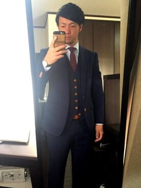 498a0b302773 Bvlgari(ブルガリ)のスーツ/ネクタイを使ったコーディネート一覧 - WEAR