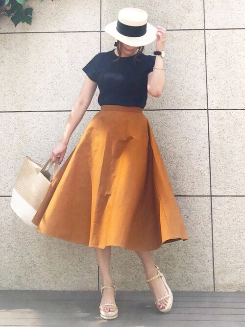 ミディのスカート