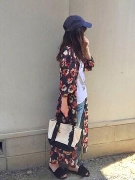 しずさんの(Discoat Parisien WOMENS|ディスコートパリシアン)を使ったコーディネート