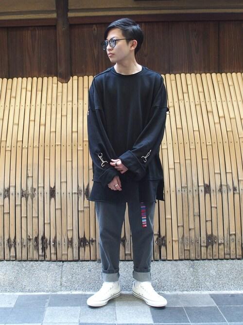 WHO'S WHO gallery 京都寺町店kentoさんの「(|)」を使ったコーディネート