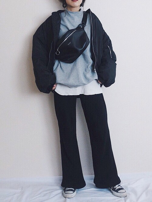 yukaさんのスニーカー「CONVERSE ALL STAR OX(CONVERSE|コンバース)」を使ったコーディネート