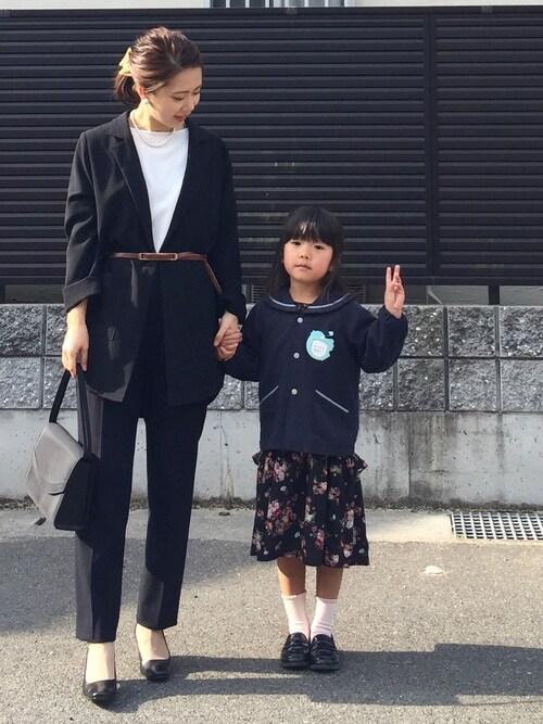 卒園式 ママ
