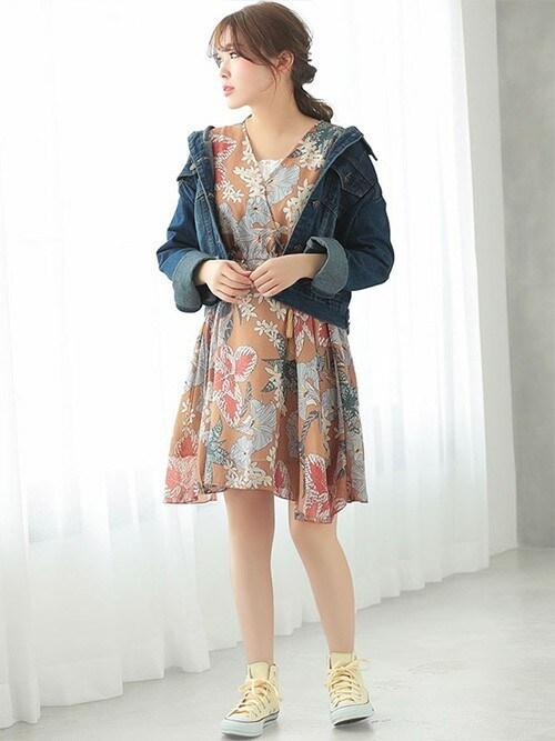 c64d5bb9590d8a レディースファッション通販NinaNina(ニーナ)さんのワンピースを使ったコーディネート - ZOZOTOWN