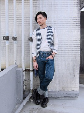 Outfit ideas , How to wear 【Dr.Martens】JADON 8 EYE BOOT