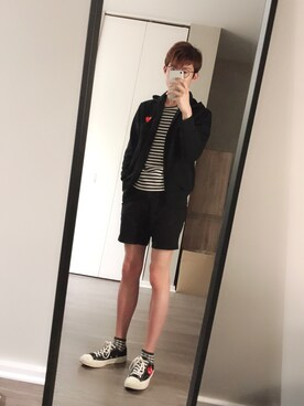 829db00e894e Ritsu is wearing Comme des Garcons