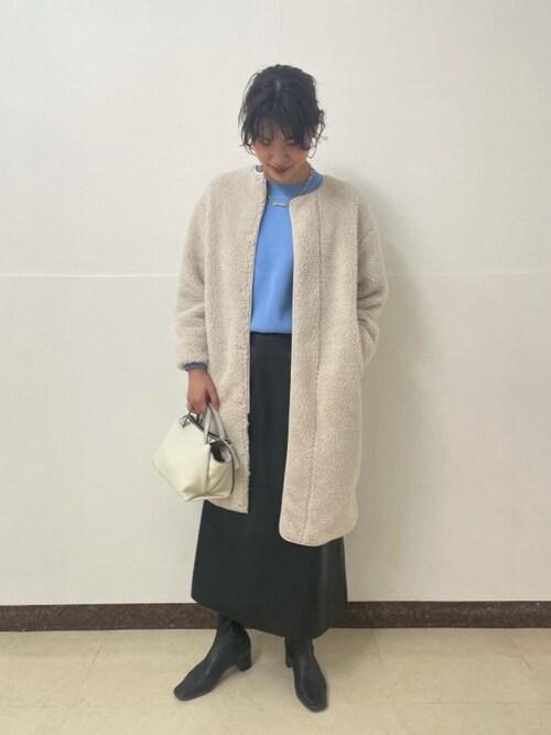 ユナイテッドアローズ 池袋店Hikaru Hoshibaさんのネックレス「UWCS VLM チェーン ネックレス(UNITED ARROWS|ユナイテッドアローズ)」を使ったコーディネート