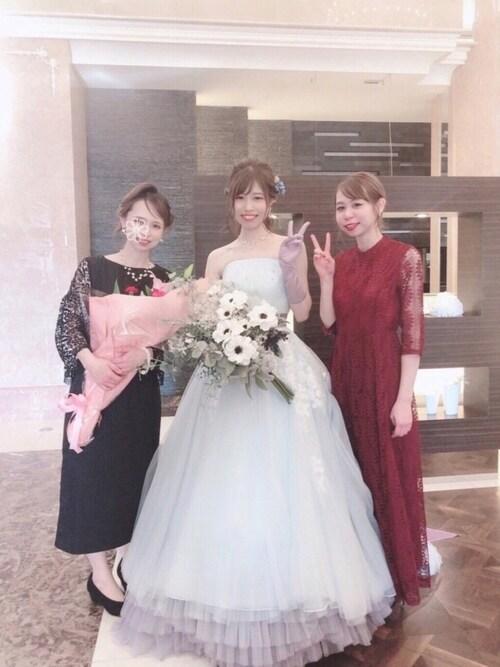 結婚式 服装 春