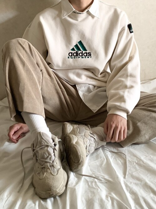Tetsuさんの(adidas)を使ったコーディネート