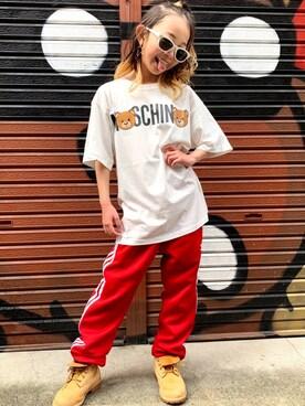 06f3af6de18 ゆちゃぴ♡さんの「Moschino/HNM029 MAXIT-SHIRT(MOSCHINO|