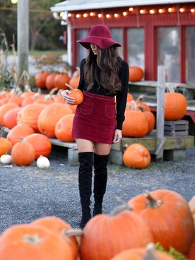 "shell is wearing Sam Edelman ""Circus by Sam Edelman Virginia Over-The-Knee Boots Women's Shoes"""