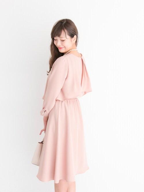 ママ ピンク セレモニースーツ