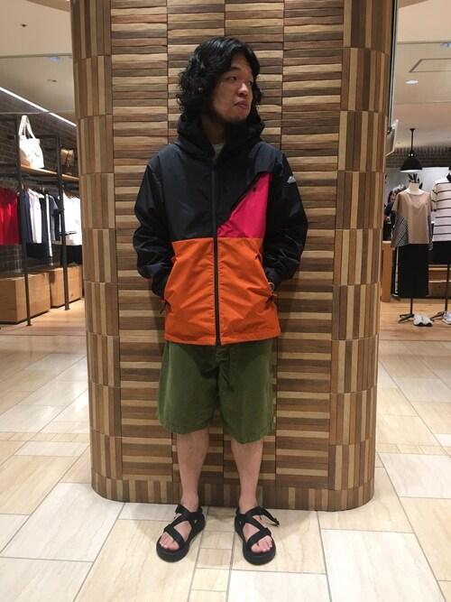 BEAVER名古屋店 Kato Taroさんのマウンテンパーカー「MANASTASH/マナスタッシュ 別注BREATHA FUNCTION JACKET(MANASTASH|マナスタッシュ)」を使ったコーディネート