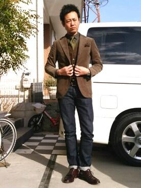 198df0602d91 COACH(コーチ)のスーツ/ネクタイを使ったメンズコーディネート一覧 - WEAR