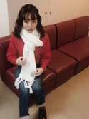 勝田里奈 is wearing RUBY AND YOU