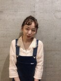 勝田里奈 is wearing PLUIE