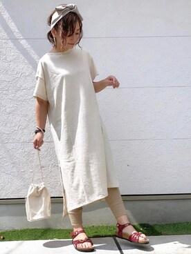 Taiyou(たいよう)さんの「19SS新作■BALI/バリ パテント (WOMEN)(BIRKENSTOCK|ビルケンシュトック)」を使ったコーディネート
