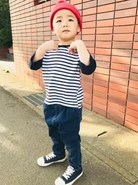a3275bef345b3 スニーカーを使った「韓国子供服」のキッズコーディネート一覧 - WEAR