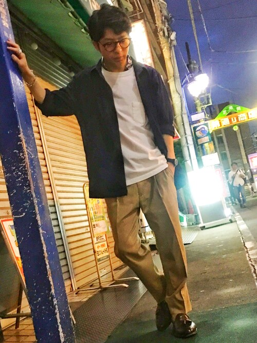 TRANS CONTINENTS 吉祥寺パルコ店Masahiro  Makimotoさんのブルゾン「4WAYストレッチコーチジャケット(TRANS CONTINENTS|トランスコンチネンツ)」を使ったコーディネート