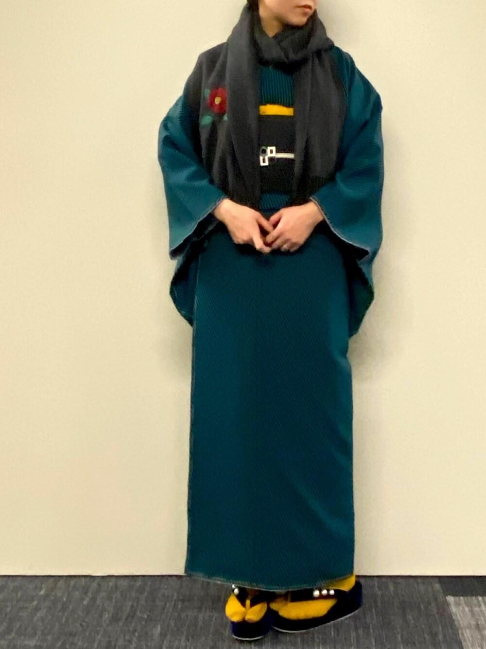 青色の着物特集