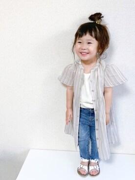 066295c0f7bf5 ワンピースを使った「韓国子供服」のコーディネート一覧 - WEAR