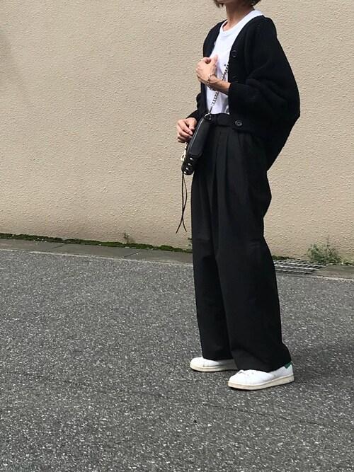 Ayaさんの「TEE-SHIRT TRICOLOR FOX(MAISON KITSUNE)」を使ったコーディネート