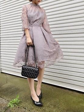 a94b0c7a9912f クチュールレースリボンワンピースドレスを使ったコーディネート (14). RINAさんのコーディネート. 5 · 10 · 悠喜さんのコーディネート