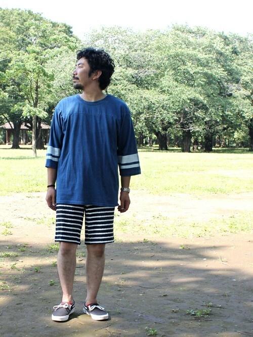 七分袖×ショートパンツ・短パン 気温 画像1