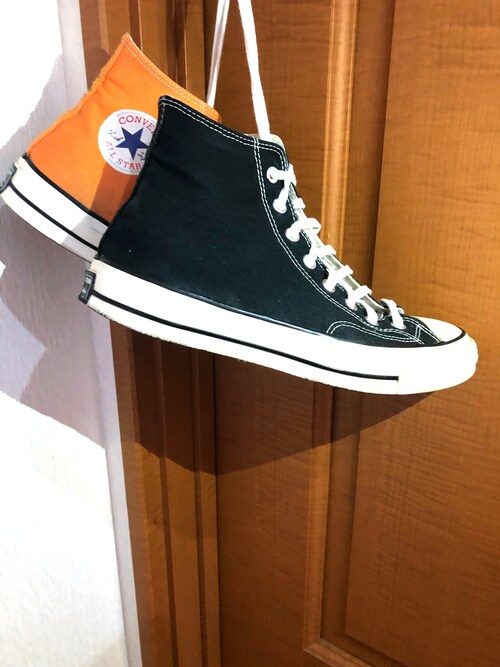 "TAKI@フォロー求(^人^) is wearing Converse ""Converse 1970s Chuck Taylor Canvas High Top Sneakers"""
