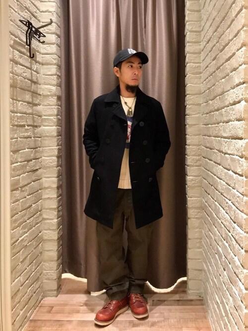 HYSTERIC GLAMOUR札幌店HAMAさんのパンツ「ArkAir×HYSTERIC COMBAT TROUSERS(HYSTERIC GLAMOUR|ヒステリックグラマー)」を使ったコーディネート