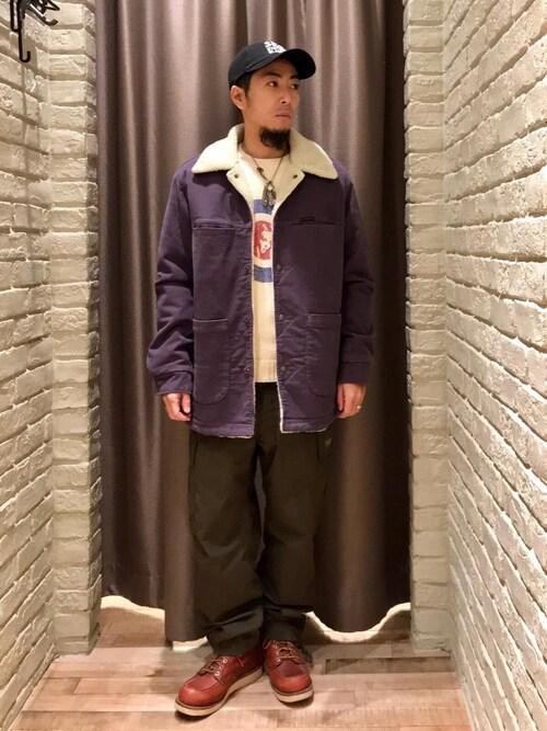 HYSTERIC GLAMOUR札幌店HAMAさんのパンツ「ArkAir×HYSTERIC COMBAT TROUSERS(HYSTERIC GLAMOUR ヒステリックグラマー)」を使ったコーディネート