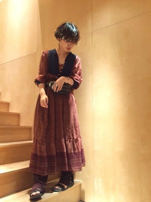 note et silence.mikako さんの「(|)」を使ったコーディネート