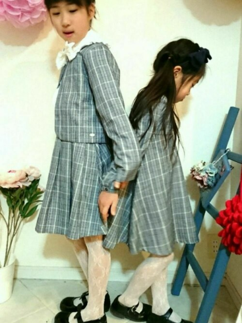 saramimiさんの「チェックボレロ&スカート セットアップ(Catherine Cottage)」を使ったコーディネート