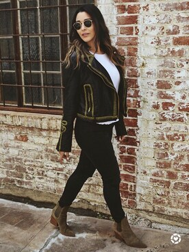 28a9ccd06969c Looks featuring Free People Bang Bang Vegan Leather Jacket (2)