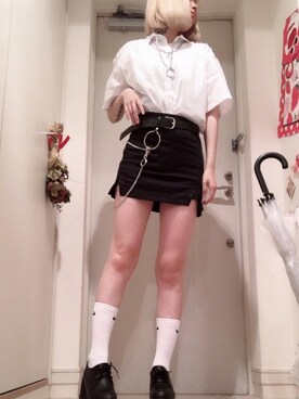 4e5e912af31d4 ウォレットチェーンを使った「韓国ファッション」のレディースコーディネート一覧 - WEAR