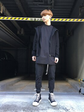 LHP 名古屋店|Kaito Ito LHP名古屋さんの(DRKSHDW by RICK OWENS)を使ったコーディネート