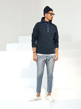 THE DUFFER OF ST.GEORGE|JEEさんのデニムパンツ「EASY DENIM: