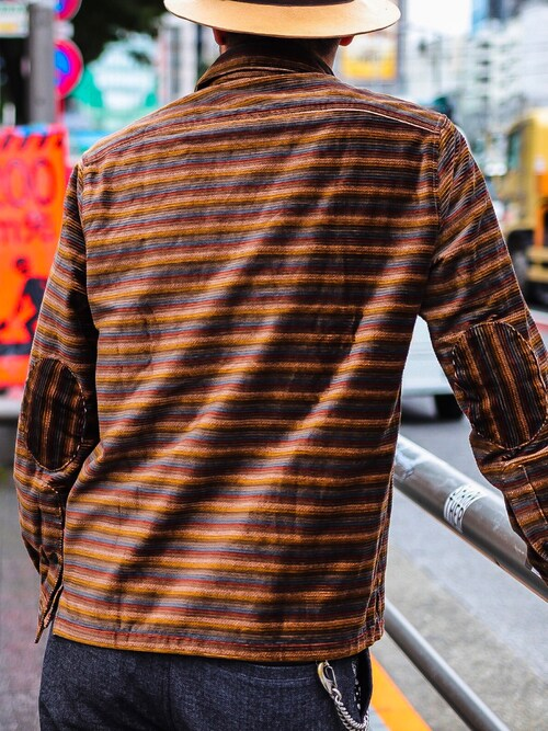 SubcietyHEADSHOP小原 壮大朗さんのシャツ/ブラウス「CORDUROY SHIRT(Subciety|サブサエティ)」を使ったコーディネート