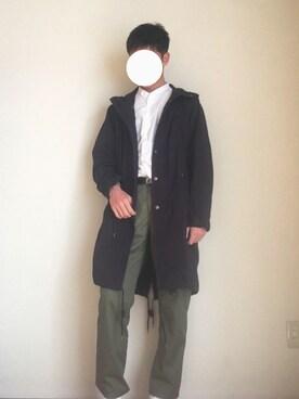 【メンズ】ネイビーコートのおすすめコーデ7選|アレンジ6個