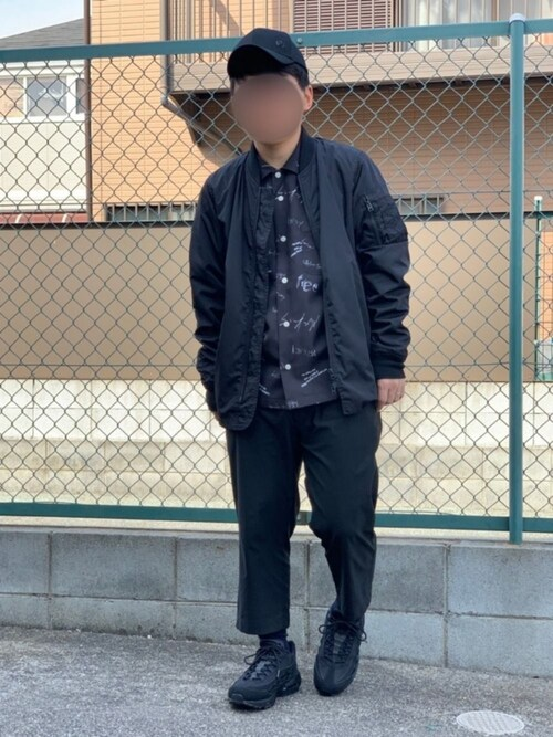 Ryuuuuさんの「ALPHA INDUSTRIES/ MA-1ミッドジャケット(niko and...)」を使ったコーディネート