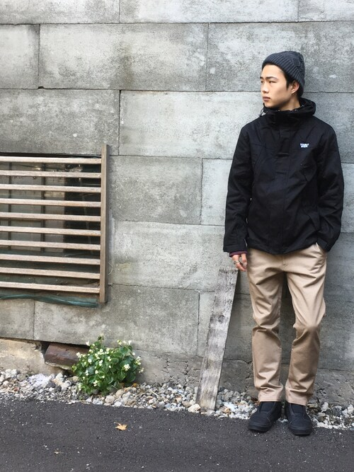Kaiさんの「Cable Knit Cap(DOUBLE STEAL)」を使ったコーディネート