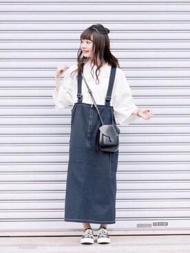 bd8afd48253ee まるさんの「オーバーサイズスクエアT(5分袖)(ユニクロ|ユニクロ