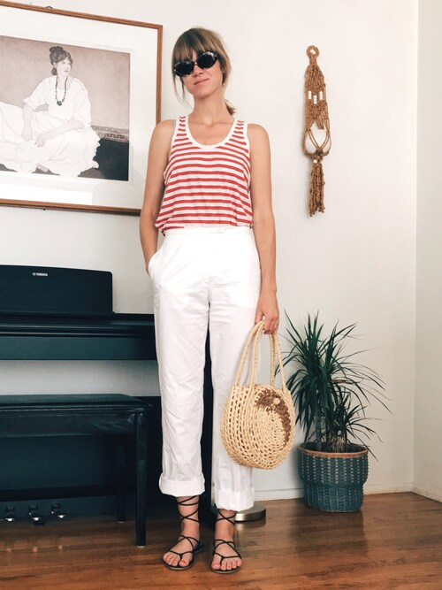 EliseApffel is wearing madewell