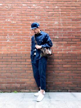 1aa0d2b06f70 LOUIS VUITTON(ルイヴィトン)のバッグを使ったメンズコーディネート一覧(地域:中国) - WEAR
