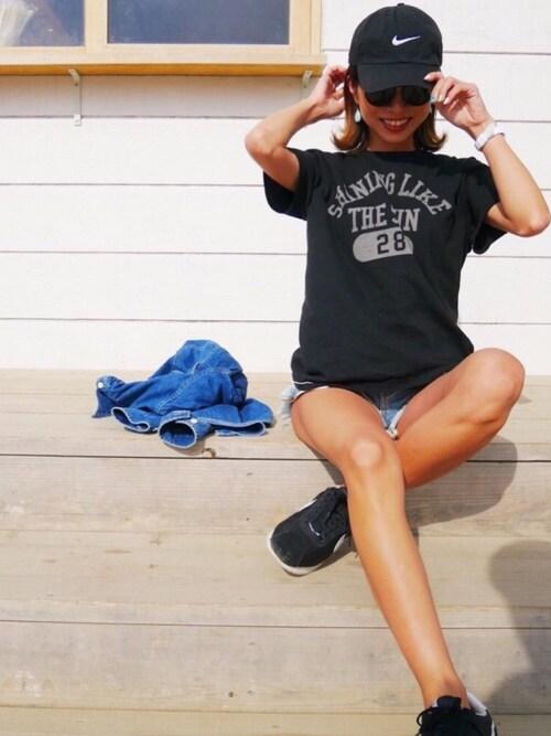 Oo.hiro.oOさんのTシャツ/カットソー「mt5122-WEARISTAコラボTee(ひろさん)(CAMBIO|カンビオ)」を使ったコーディネート