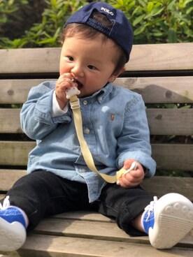 39afa64ea3dbb シャツ・ブラウスを使った「9ヶ月赤ちゃん」のコーディネート一覧 - WEAR