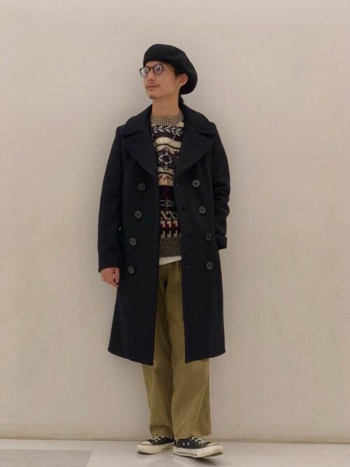 Schott Grand Store TOKYOSatsuma Gotoさんのパンツ「Schott/ショット/ARMY FATIGUE PANTS/アーミー ファティーグ パンツ(schott|ショット)」を使ったコーディネート