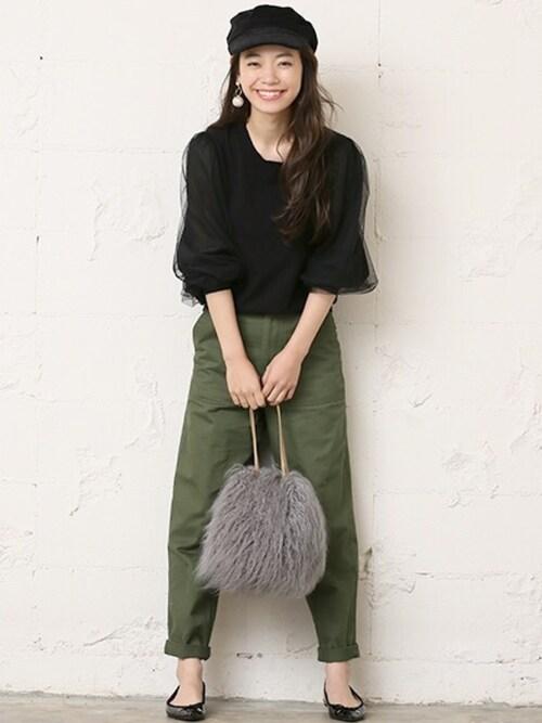 モデルで女優の阿久津ゆりえさん