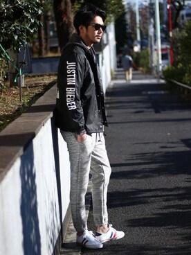 "e9a1f35da345 Justin Bieber. 165cm, JP. MEN'S BIGI HEAD OFFICE|shunsuke.Hさんの「【WEB限定】"""