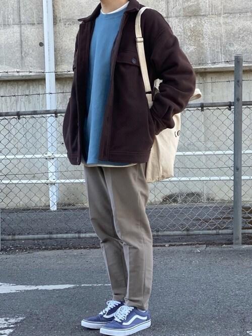 Kさんの「フリースCPOジャケット(niko and...)」を使ったコーディネート