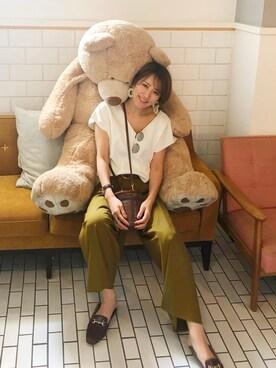 0939dd69d24e4 金子三記(miki)さんの「<STYLE for LIVING> Vネック